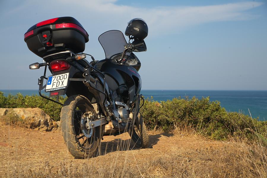 Мотоцикл Honda Transalp