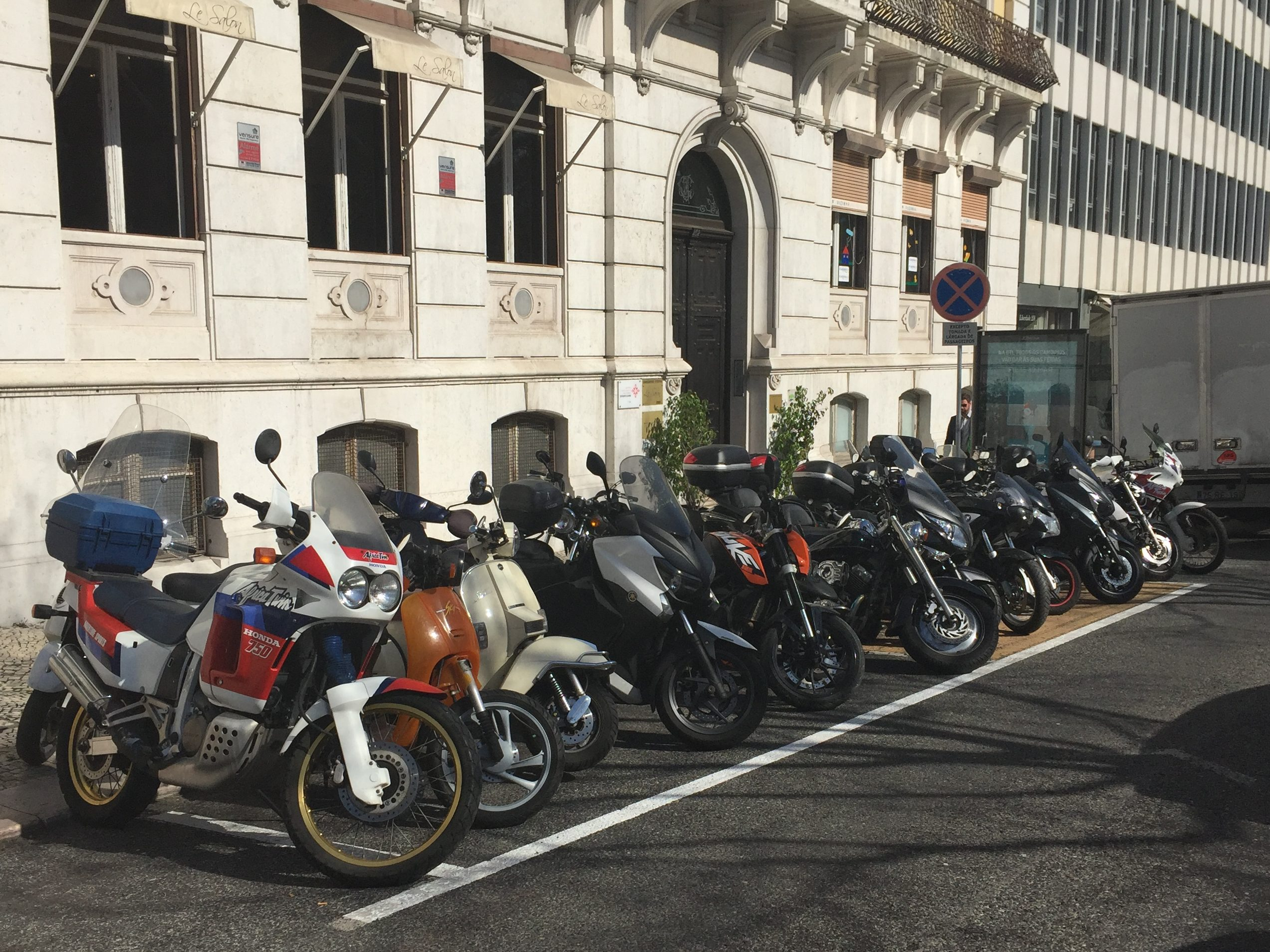 Мотоциклы в Лиссабоне